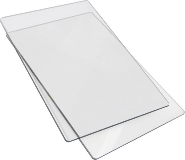 "Sizzix Acrylplatten Cutting Pad Big Shot(TM) ""Standard"" 15 x 22,5 cm transparent"