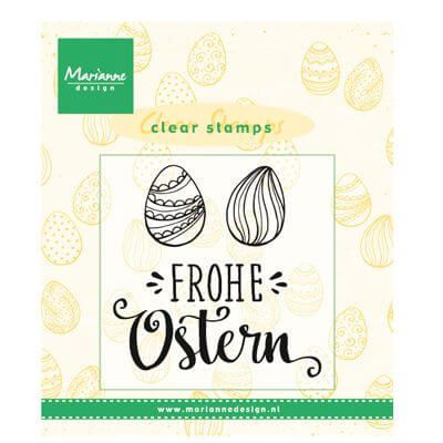 Marianne Design clear stamps frohe ostern